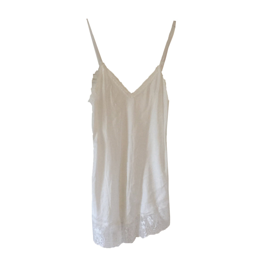 Hand Dyed Camisole with Lace - Ivory, TO-Terminal One, Putti Fine Furnishings