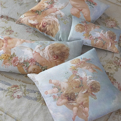 Cherub Cushion 60cm x 60cm, B&C-Boho & Co, Putti Fine Furnishings