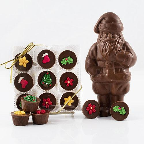 Christmas Chocolate Savanahs