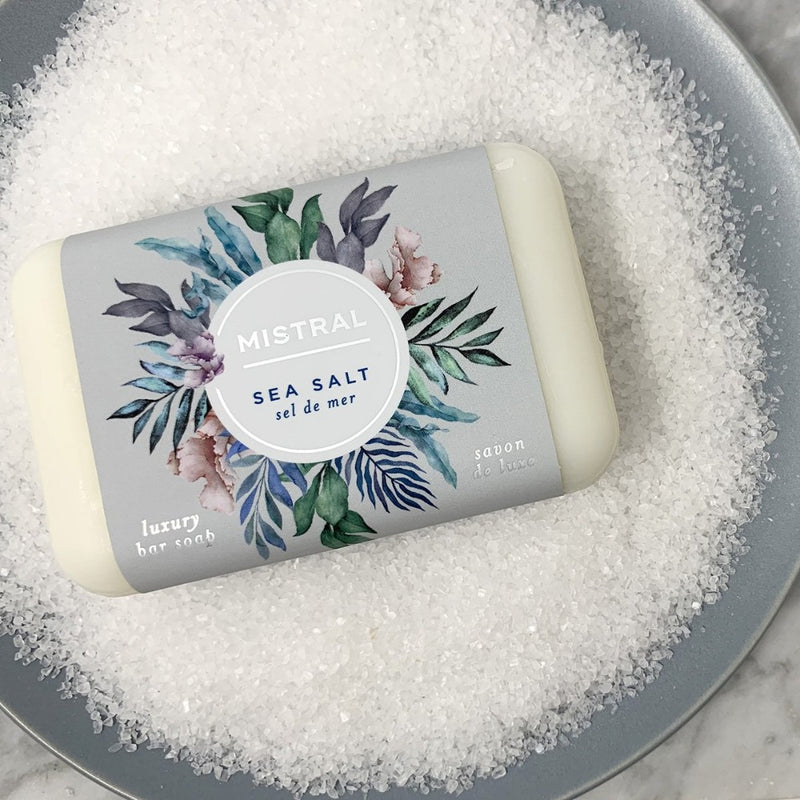 Mistral Classic French Soap - Sea Salt