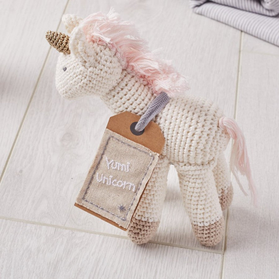 Albetta Crochet Unicorn Soft Toy