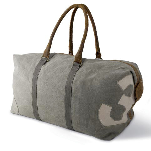 Khaki Polo Number Weekend Bag-Weekend Bags-Culinary Concepts London-Putti Fine Furnishings