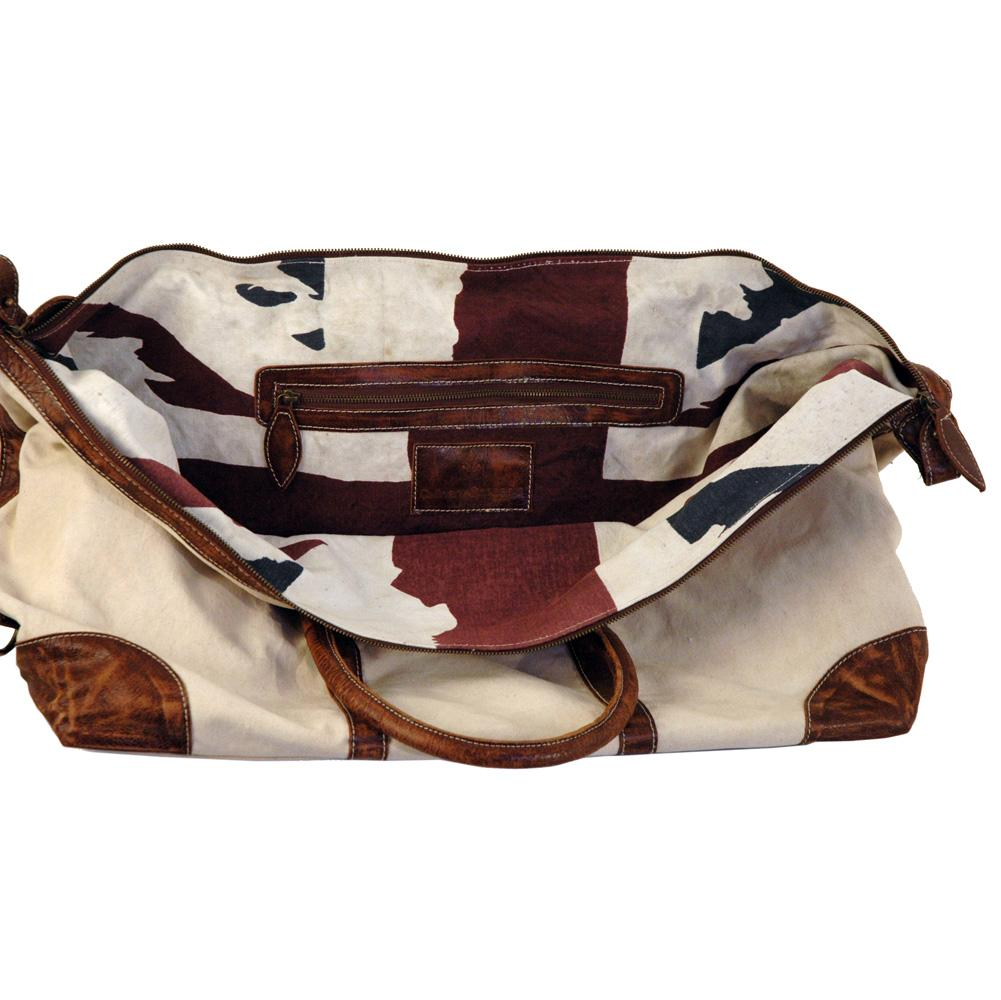 Vintage Canvas Weekend Bag-Weekend Bags-Culinary Concepts London-Putti Fine Furnishings