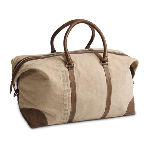 Vintage Canvas Weekend Bag -  Weekend Bags - Culinary Concepts London - Putti Fine Furnishings Toronto Canada - 1