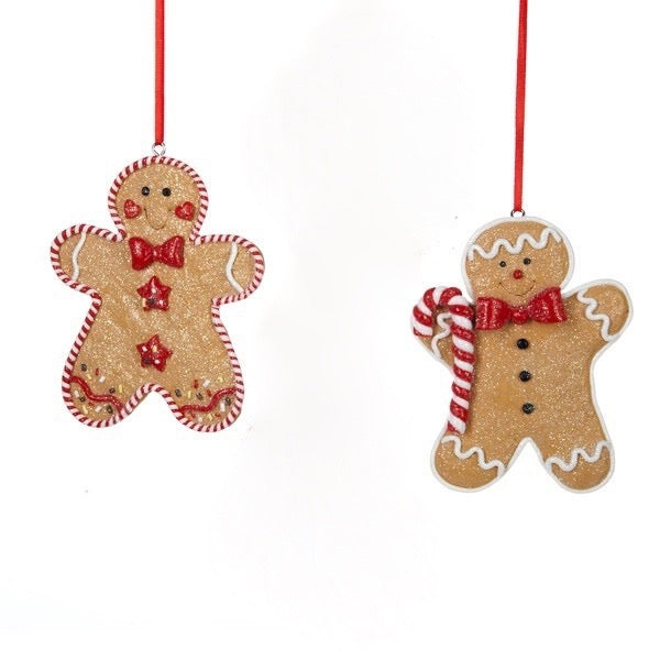 Kurt Adler Gingerbread Men Ornaments