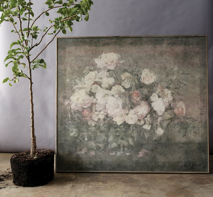 Chateau Flower Bouquet Wood Wall Decor