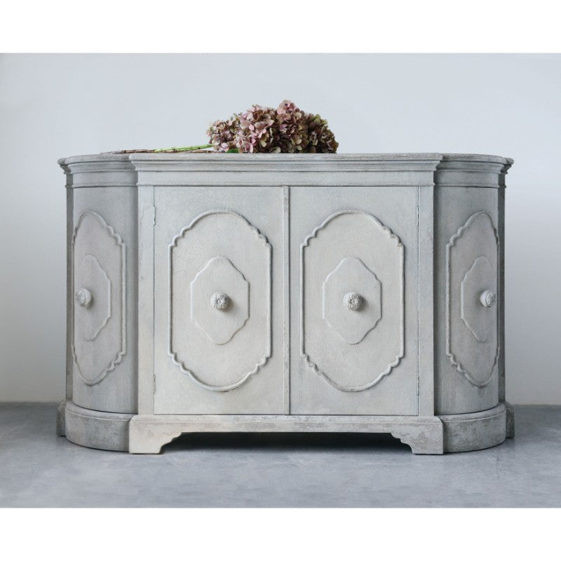 Grey Wash Sideboard