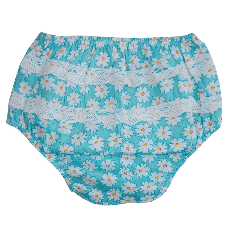 Daisy Print Frilly Nickers