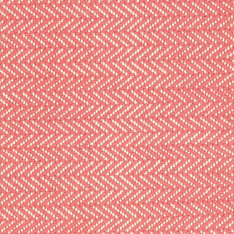 Herringbone Indoor Outdoor Rug - Coral