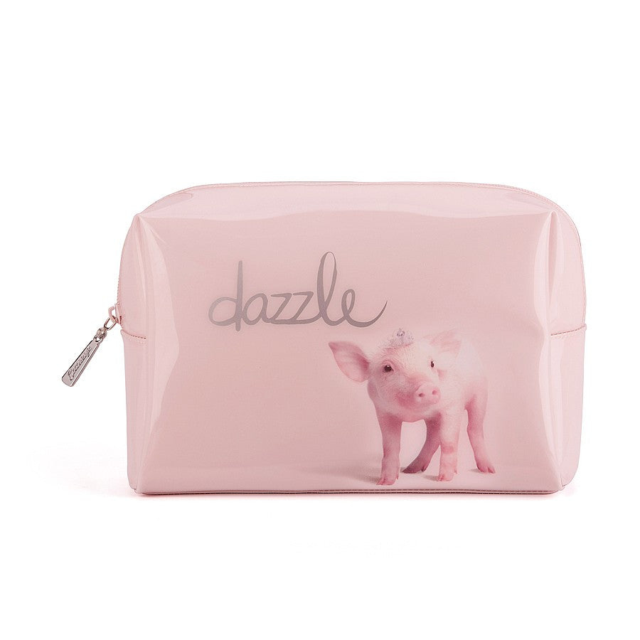 """Dazzle"" Piglet Beauty Bag - Large -  Personal Accessories - Putti Fine Furnishings - Putti Fine Furnishings Toronto Canada"