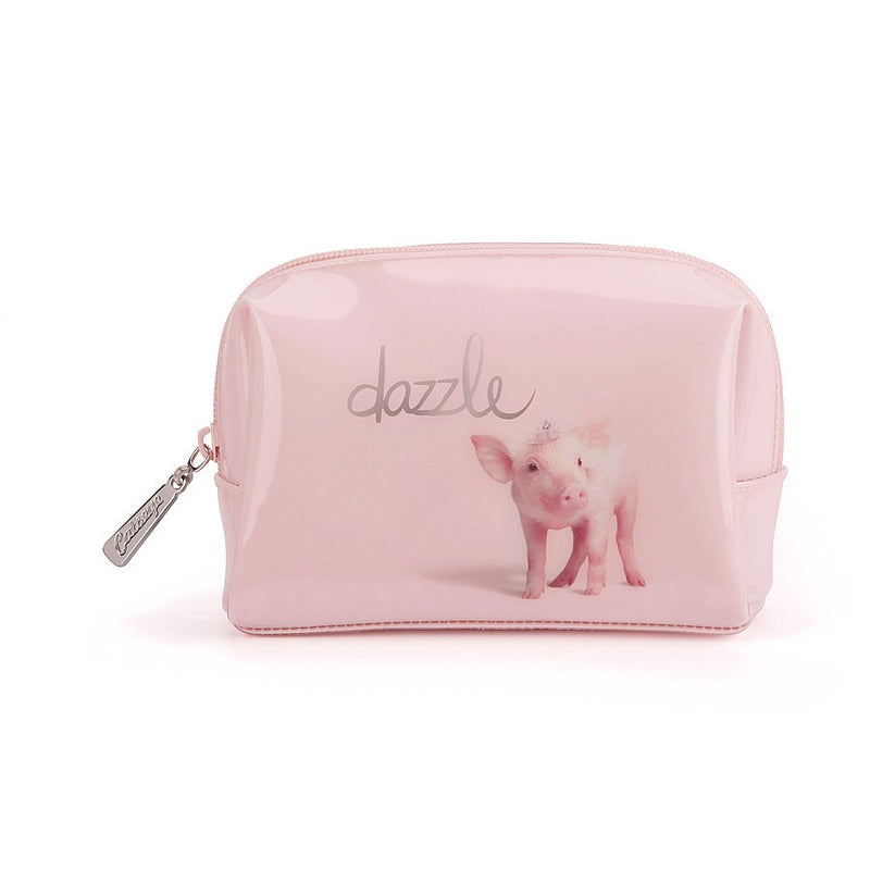 """Dazzle"" Piglet Beauty Bag - Small -  Personal Accessories - Putti Fine Furnishings - Putti Fine Furnishings Toronto Canada"