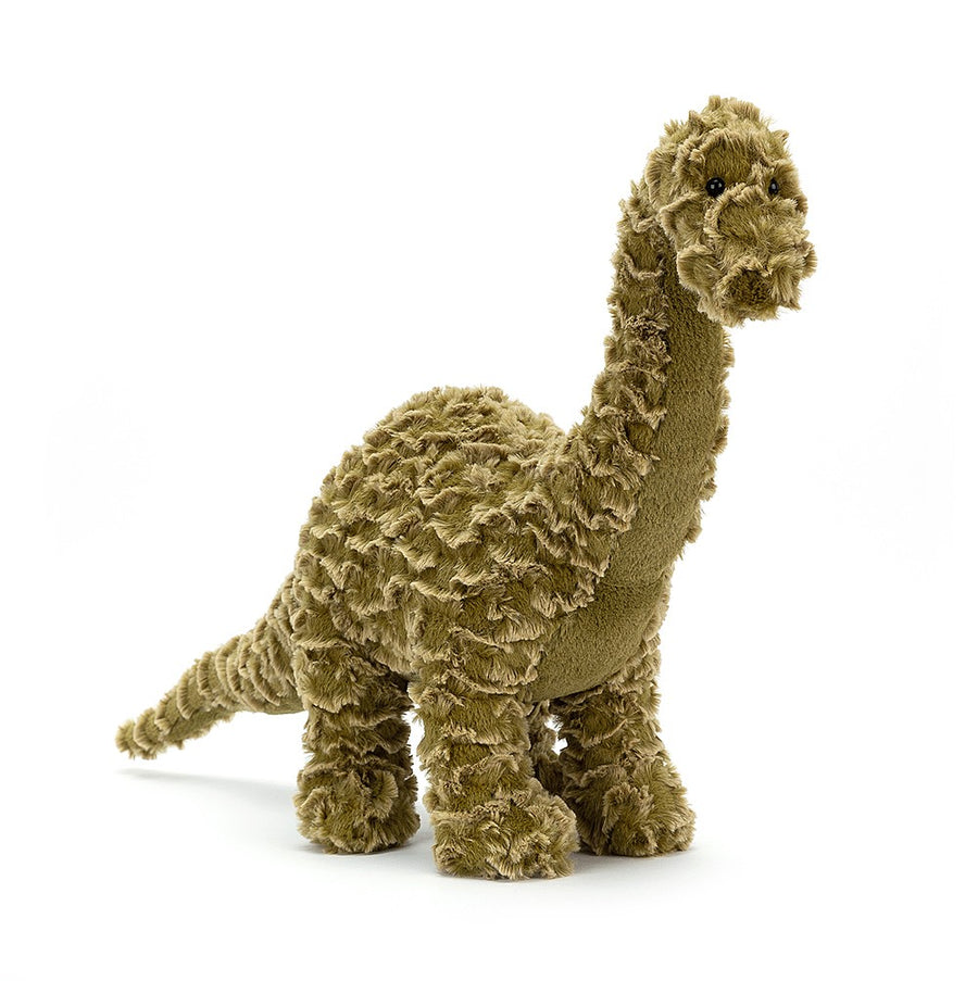 "Jellycat ""Delaney Diplodocus"" Dinosaur Soft Toy"