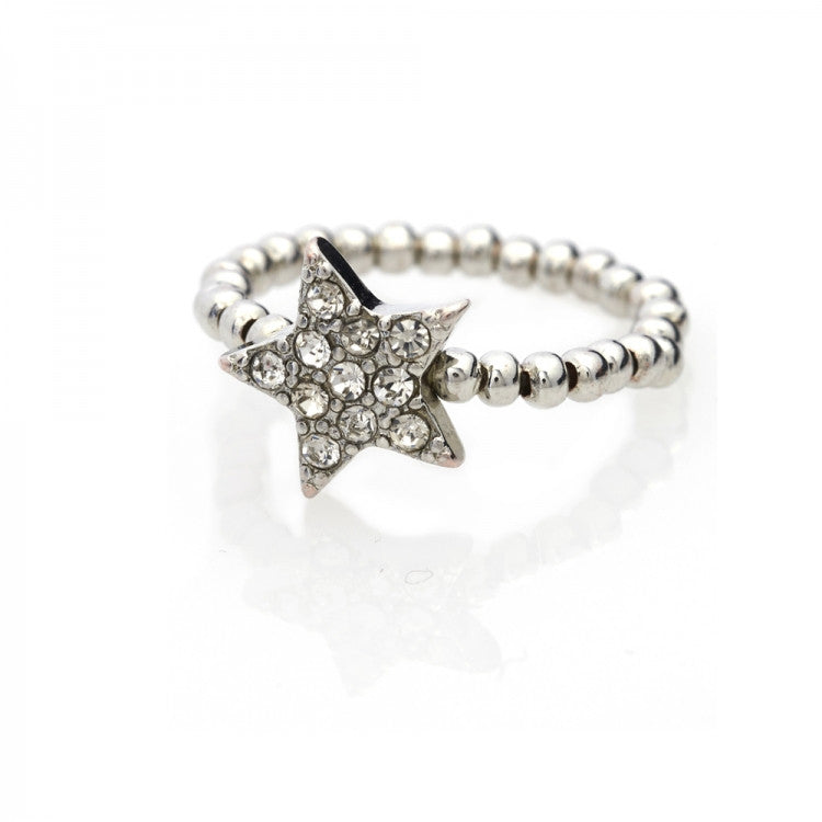 Lovett & Co. Diamante Star Ring