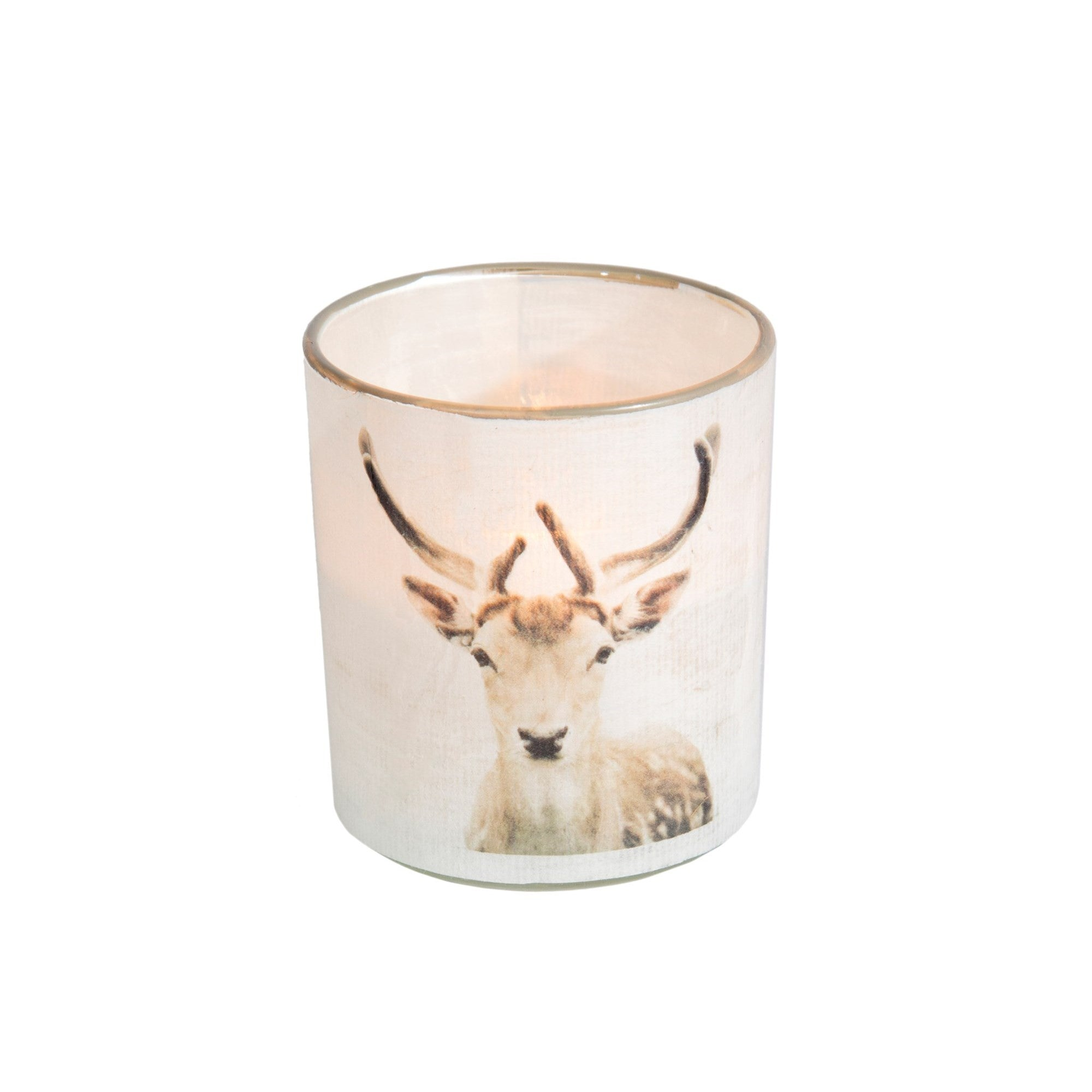 Deer Head Tea Light Holder