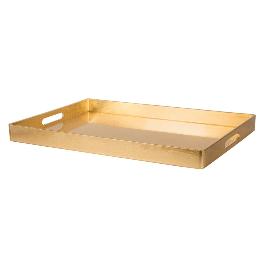 Gold Rectangular Tray, CF-Canfloyd, Putti Fine Furnishings
