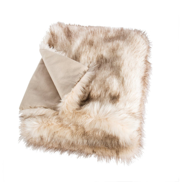 Faux Fur - Alaska Bear Throw -  Accessories - Canfloyd - Putti Fine Furnishings Toronto Canada