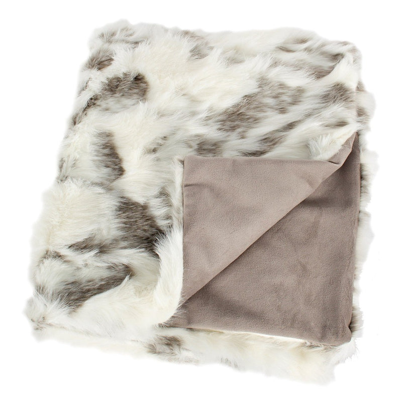 Arctic Fox Faux Fur Throw-Soft Furnishings-CF-Canfloyd-Putti Fine Furnishings