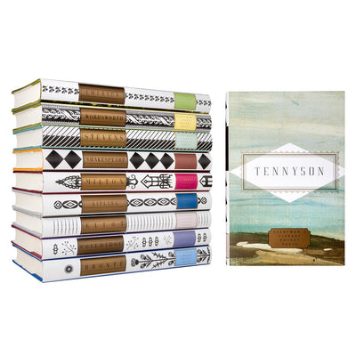 Everyman's Library - Tennyson Poems, RH-Random house, Putti Fine Furnishings