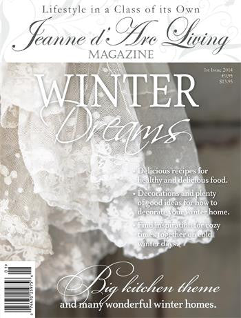 Jeanne d'Arc Living Magazine Jan 2014 1st Edition, Jeanne d'Arc Living, Putti Fine Furnishings