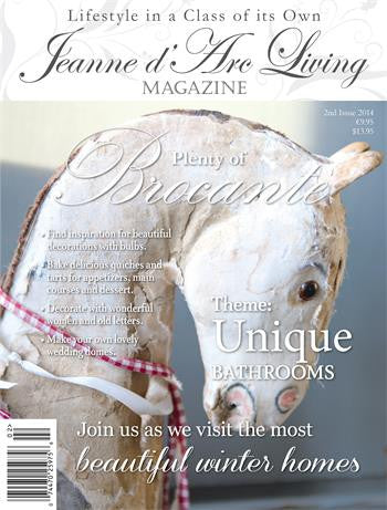 Jeanne d'Arc Living Magazine Feb 2014 2nd Edition-Book-Jeanne d'Arc Living-Putti Fine Furnishings