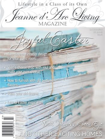 Jeanne d'Arc Living Magazine March 2015 3rd edition, Jeanne d'Arc Living, Putti Fine Furnishings