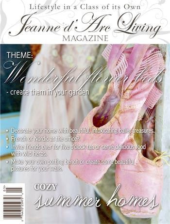 Jeanne d'Arc Living Magazine May 2015 5th edition, Jeanne d'Arc Living, Putti Fine Furnishings