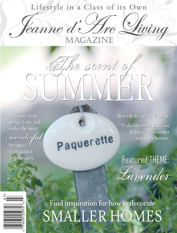 Jeanne d'Arc Living Magazine July 2014 7th edition, Jeanne d'Arc Living, Putti Fine Furnishings
