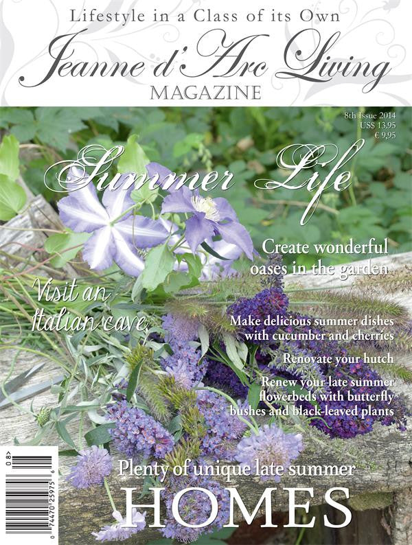 Jeanne d'Arc Living Magazine August 2014 8th edition, Jeanne d'Arc Living, Putti Fine Furnishings