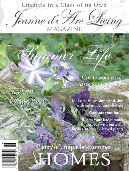 Jeanne d'Arc Living Magazine August 2014 8th edition-Book-Jeanne d'Arc Living-Putti Fine Furnishings