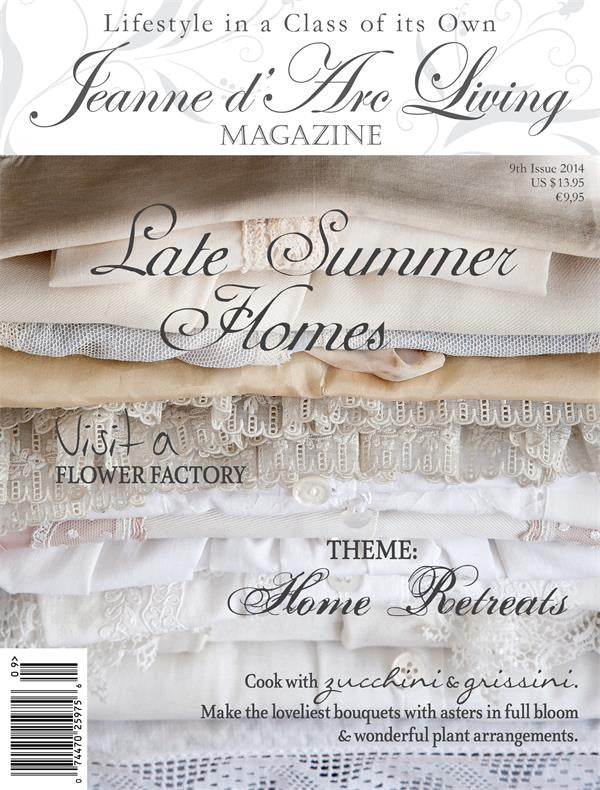 Jeanne d'Arc Living Magazine September 2014 9th edition