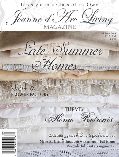 Jeanne d'Arc Living Magazine September 2014 9th edition-Book-JDL-Jeanne d'Arc Living-Putti Fine Furnishings