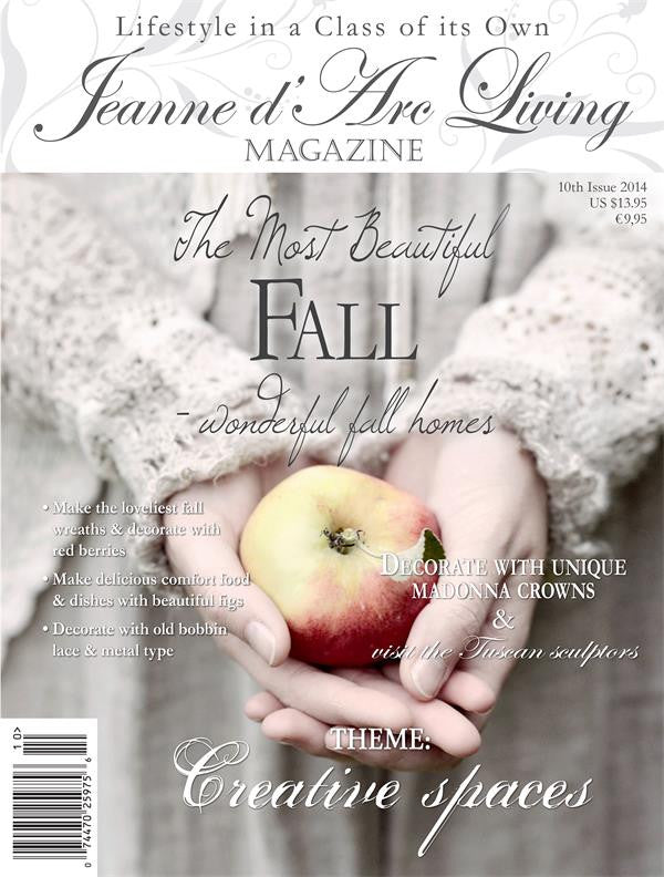 Jeanne d'Arc Living Magazine October 2014 10th edition