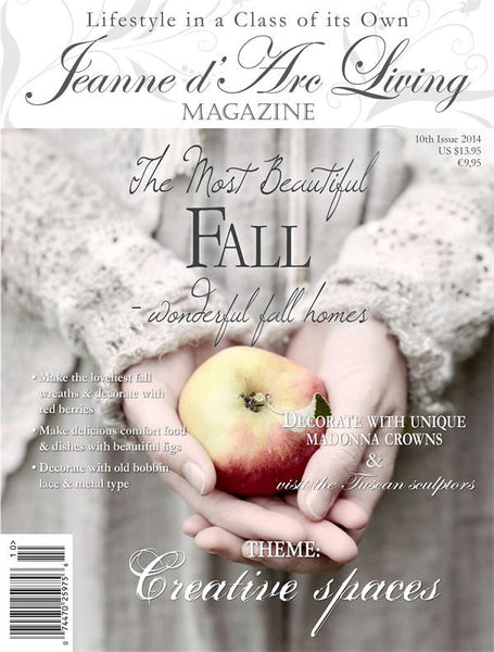 Jeanne d'Arc Living Magazine October 2014 10th edition-Book-JDL-Jeanne d'Arc Living-Putti Fine Furnishings