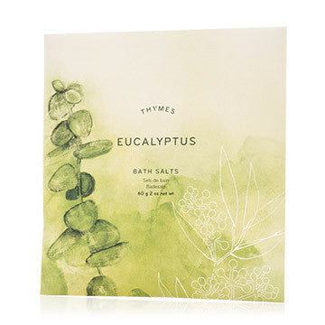 Thymes Eucalyptus Foaming Bath Envelope, TC-Thymes Collection, Putti Fine Furnishings