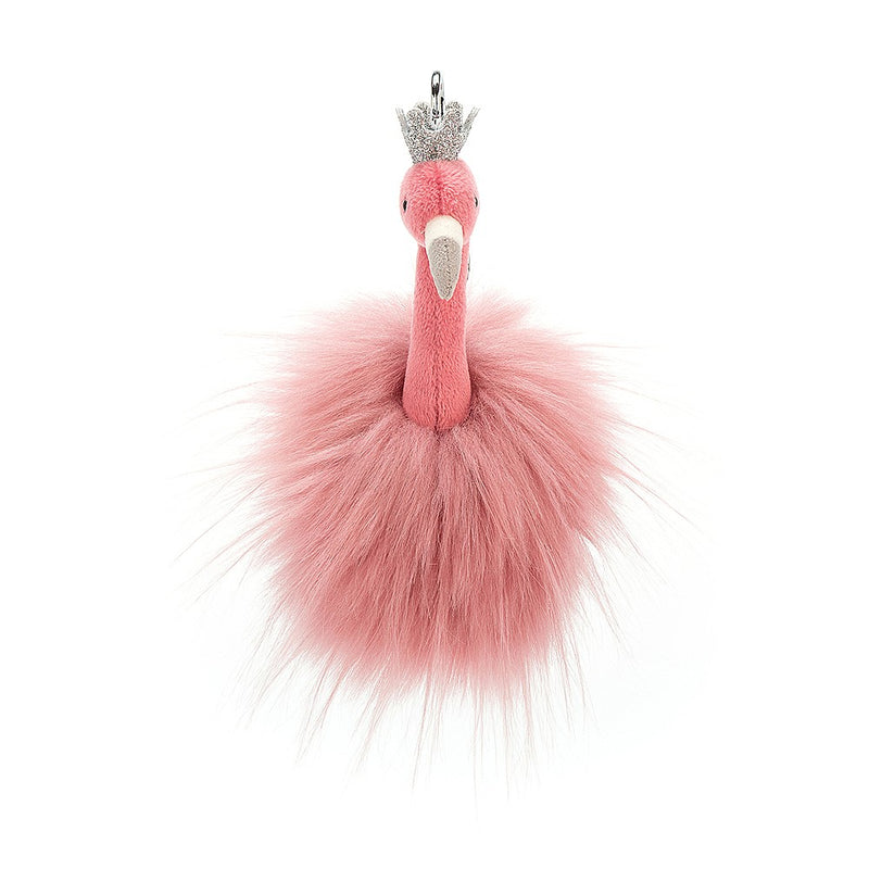 Jellycat Fancy Flamingo Bag Charm | Le Petite Putti