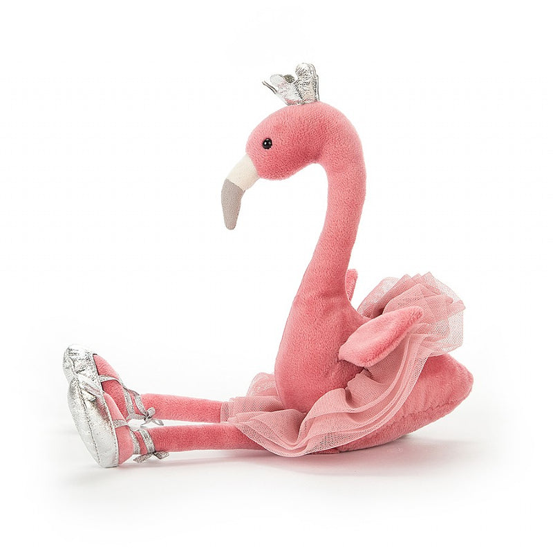 "Jellycat ""Fancy Flamingo"" Soft Toy, JC-Jellycat UK, Putti Fine Furnishings"