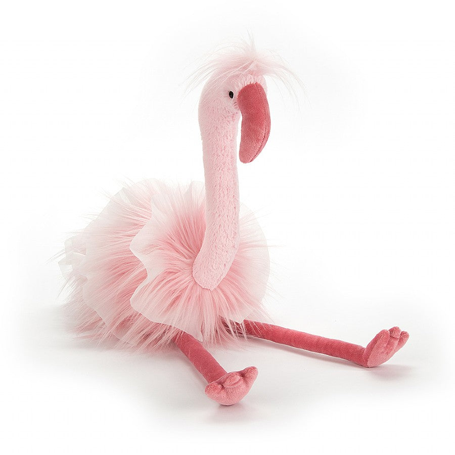 "Jellycat ""Flo Maflingo"" Flamingo Soft Toy, JC-Jellycat UK, Putti Fine Furnishings"