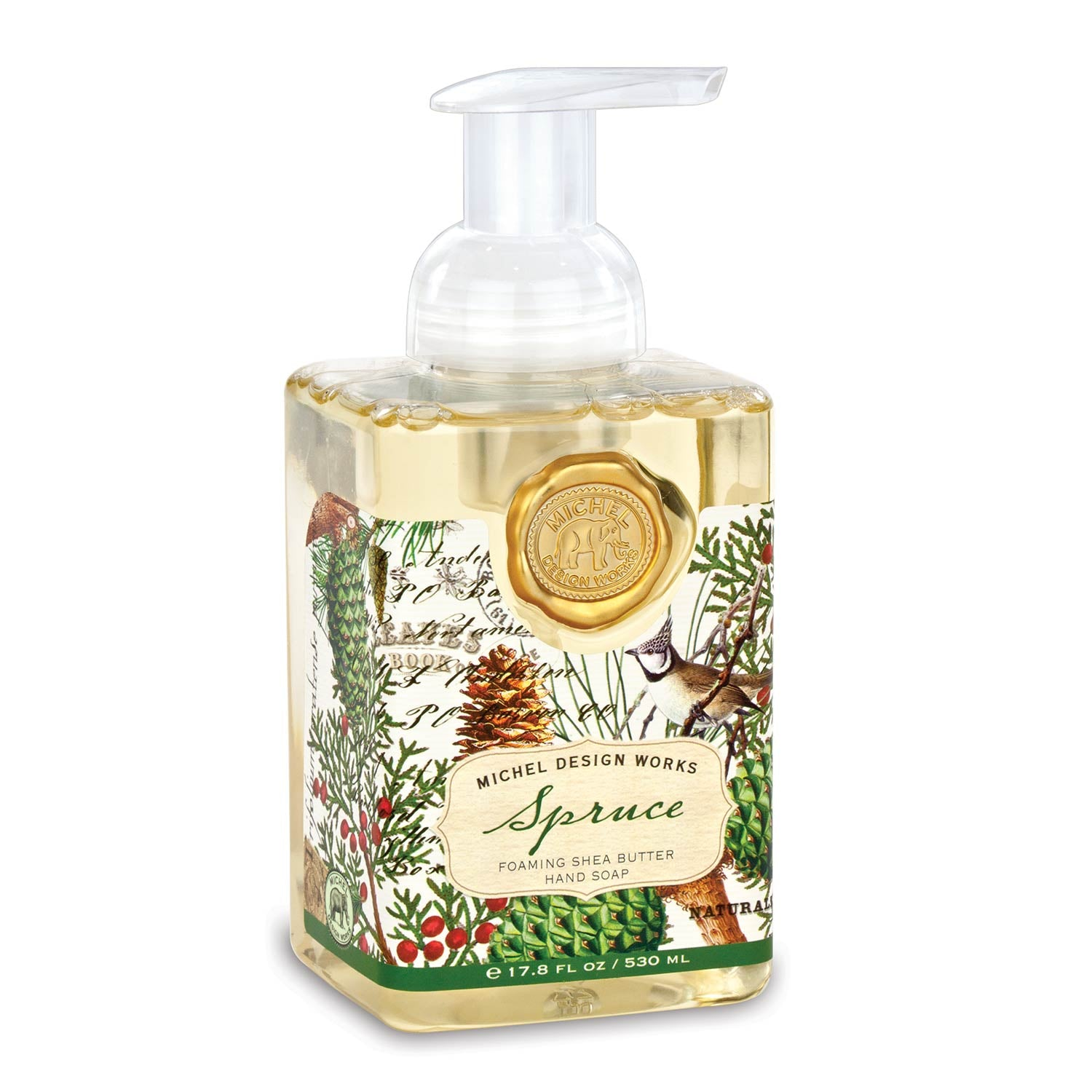 Michel Design Works - Spruce Foaming Hand Soap - Putti Fine Furnishings Toronto Canada