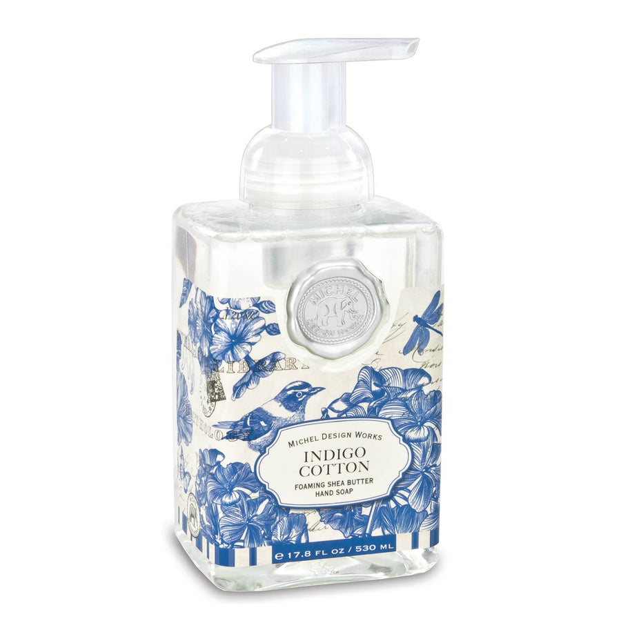 Indigo Cotton Foaming Soap