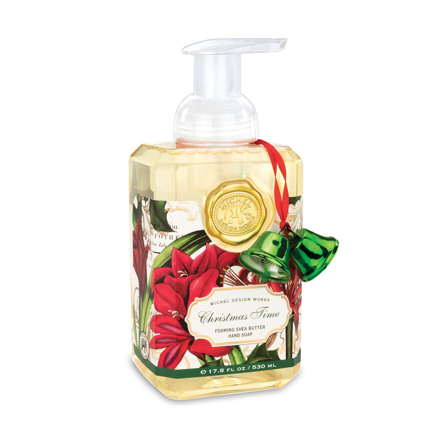 Michel Design Works Christmas Time Foaming Hand Soap - Putti Fine Furnishings