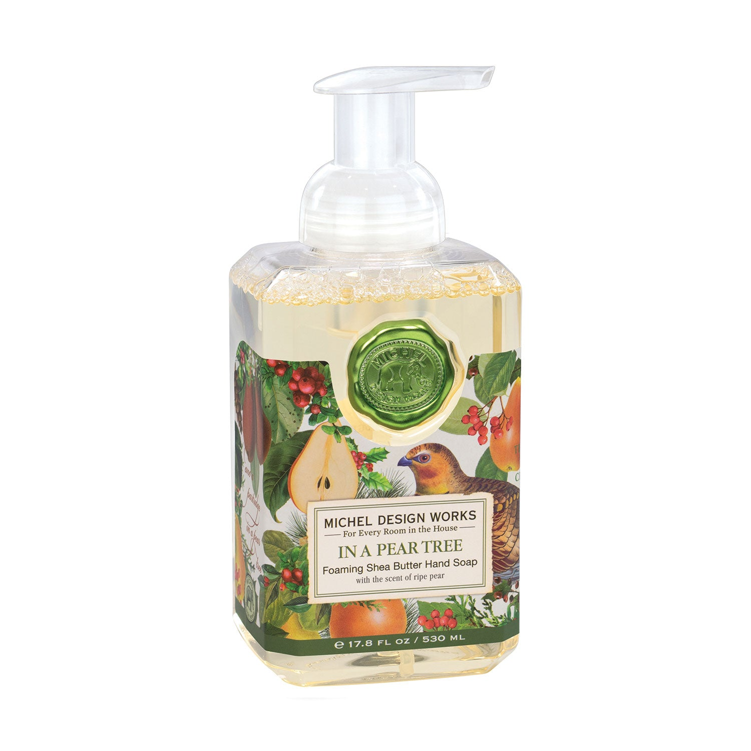 Michel Design Works In a Pear Tree Foaming Hand Soap