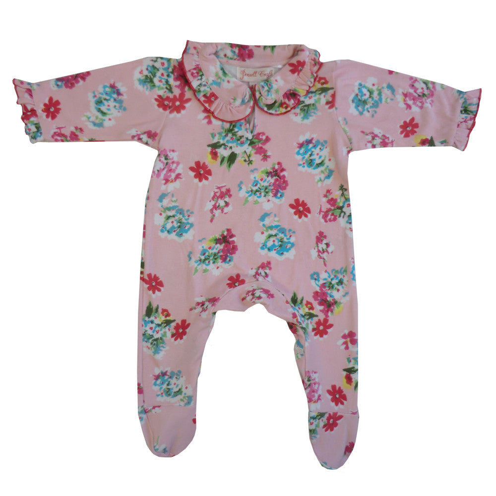"""Pink Floral"" Jumpsuit, PC-Powell Craft Uk, Putti Fine Furnishings"
