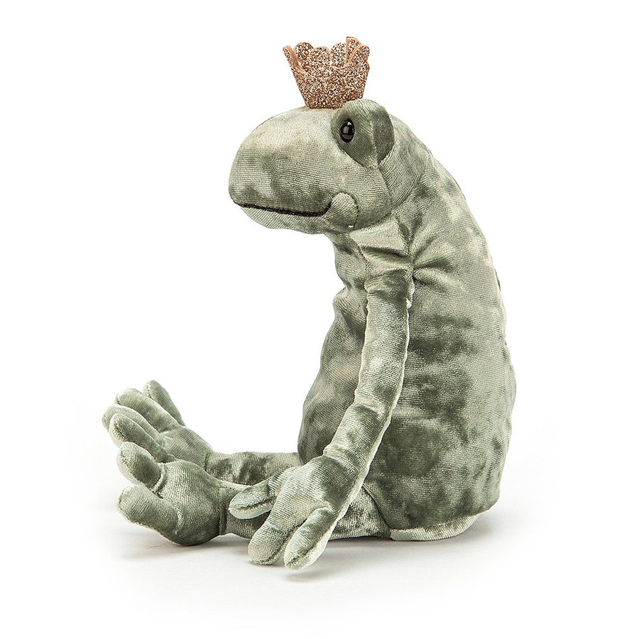 "Jellycat ""Frog Prince Kiss"" Soft Toy"