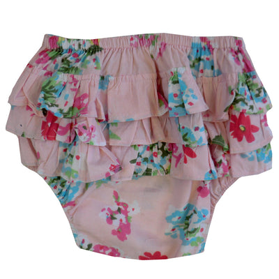 """Pink Floral"" Frilly Nickers, PC-Powell Craft Uk, Putti Fine Furnishings"