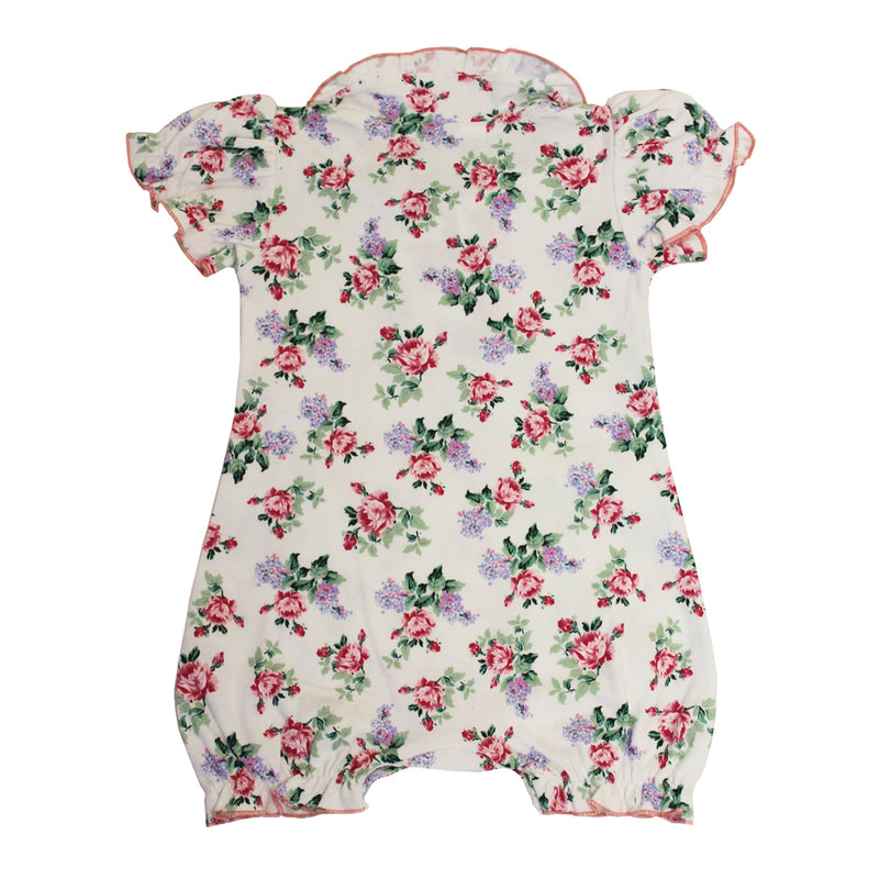 Floral Rose Baby Grow