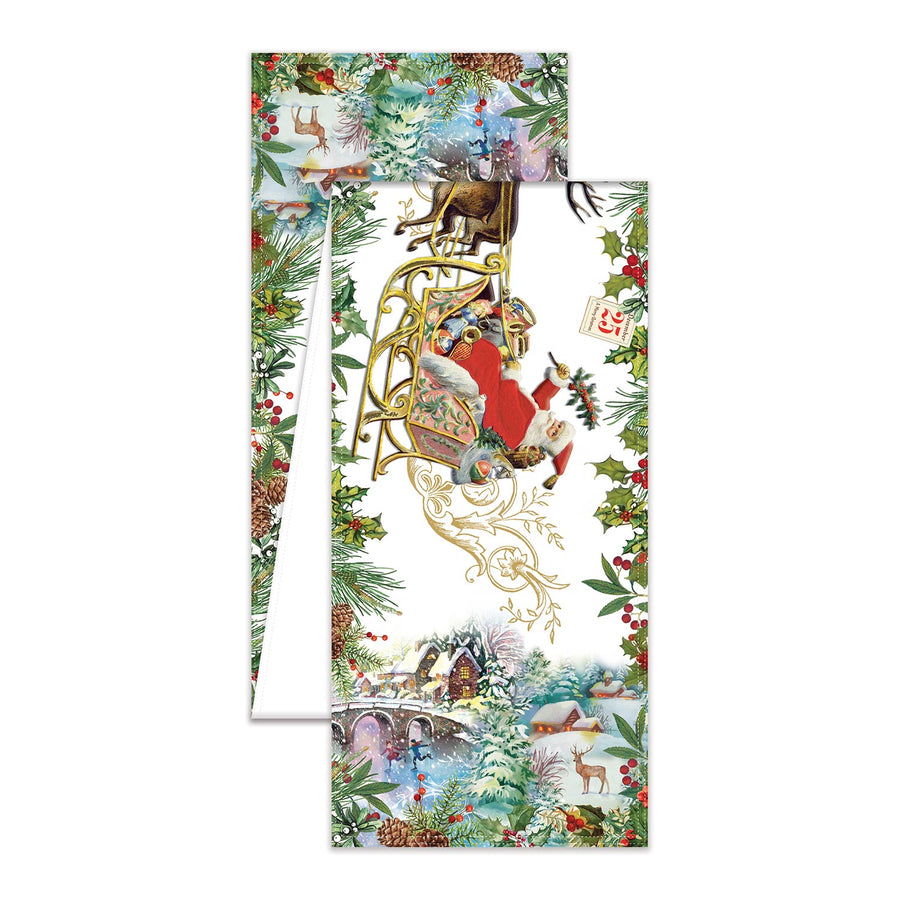 """Christmas Joy"" Table Runner  - Putti Fine Furnishings Canada"