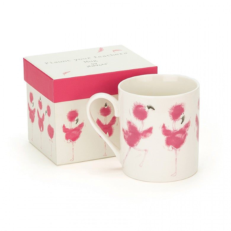Jellycat Flaunt Your Feathers Mug - Le Petite Putti - Canada
