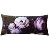 Floralisim Peonies Velvet Cushion 82cm x 35cm, B&C-Boho & Co, Putti Fine Furnishings
