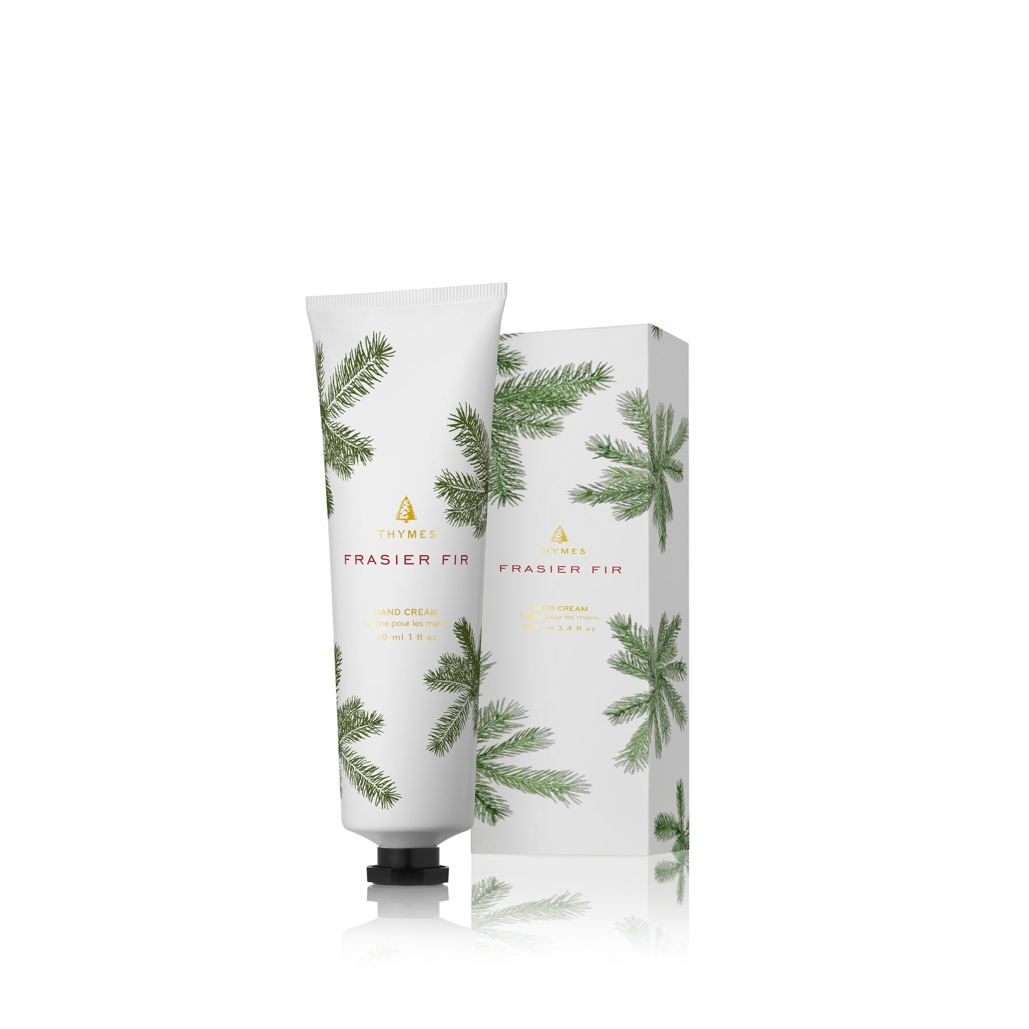 Thymes Frasier Fir Petite Hand Cream - Putti Fine Furnishings Canada