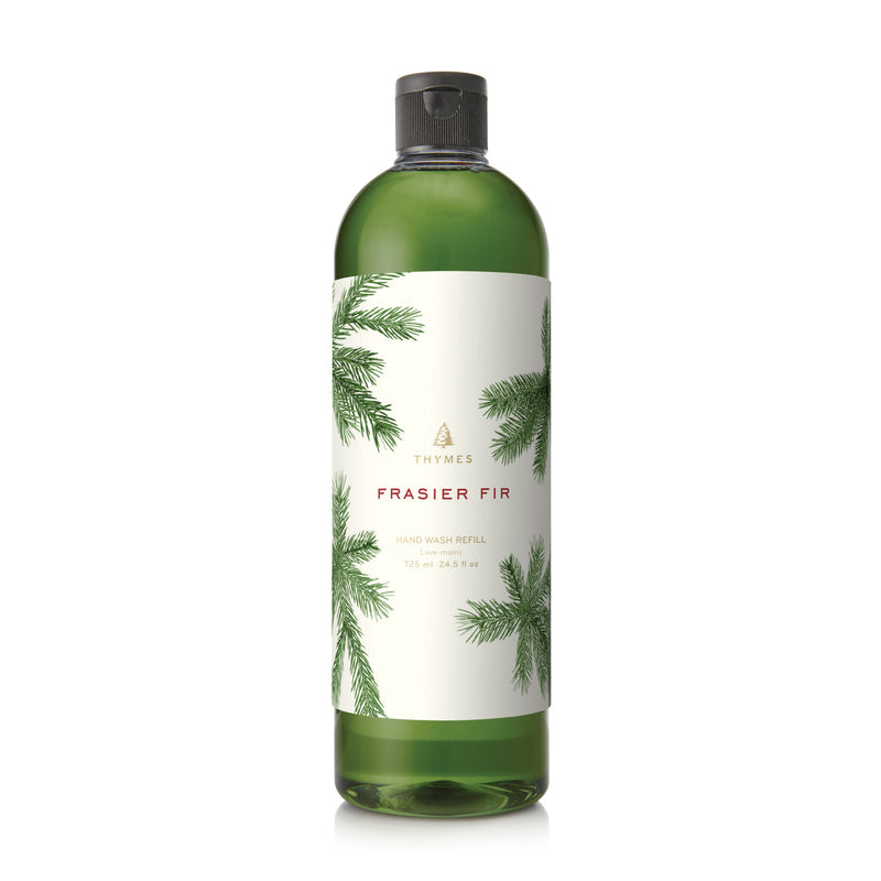 Thymes Frasier Fir Large Hand Wash Liquid Soap Refill | Putti Canada